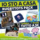 IO STO A CASA RUGBYTOTS PACK