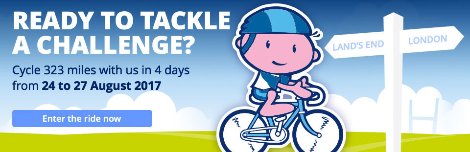 Rugbytots charity bike ride banner
